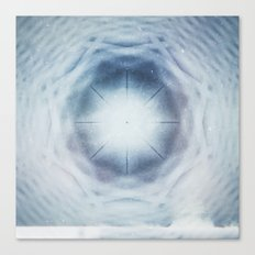 Crystalline Compass Canvas Print