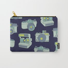 Vintage Cameras Pattern Carry-All Pouch