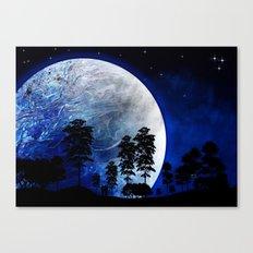 Star Gazing Canvas Print