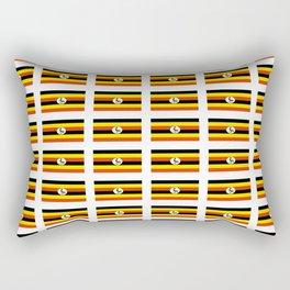 Flag of Uganda – Ugandan,ugandes,Kampala,Kyoga,Turkana. Rectangular Pillow
