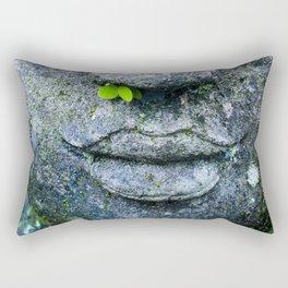 Bali Buddha Rectangular Pillow