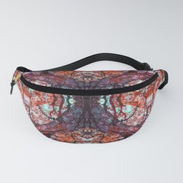 Infrared Abstract of Oak Branches Fanny Pack
