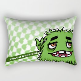 Relaxed trapezoid Rectangular Pillow