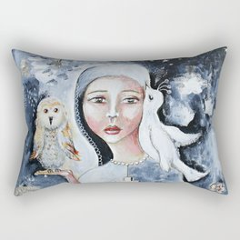 Wisdom In Peace Rectangular Pillow