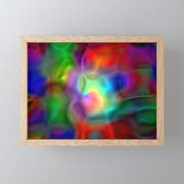 Light fantasy behind dark fantasy ... Framed Mini Art Print