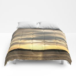 Seaside Sunset 01 Comforters