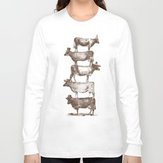 Cow Cow Nuts Long Sleeve T-shirt