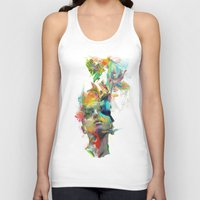 design Tank Tops featuring Dream Theory by Archan Nair