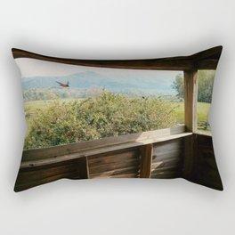 Flying Through Rectangular Pillow