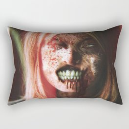 She Smiles Like You Have No Tomorrow Rectangular Pillow