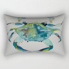 Atlantic Blue Crab Rectangular Pillow