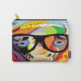 """Hipster Bison """"Buffalo"""" Carry-All Pouch"""