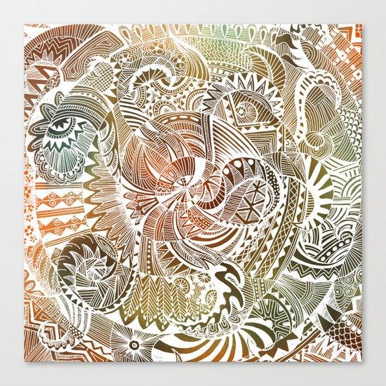Batik Canvas Print