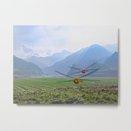 Valley of the Dragons Metal Print