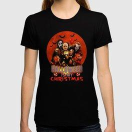 Horror movie halloween is my christmas T-shirt