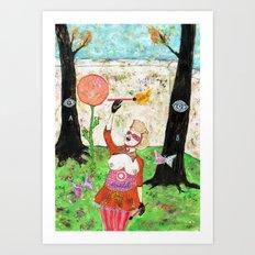 Secret Place II Art Print
