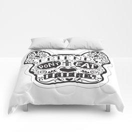 Friends Don't Eat Friends Comforters