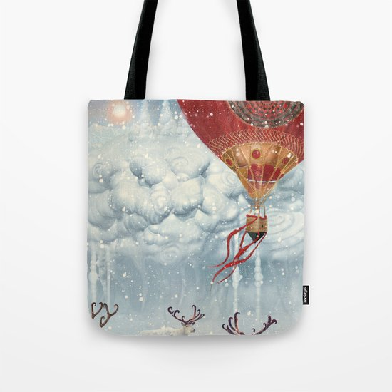 WinterFly Tote Bag