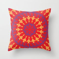 Arabian Tribal Throw Pillow