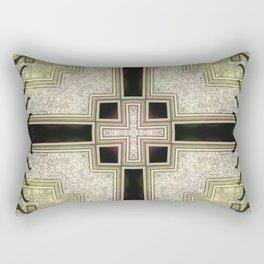 Zlata Geometrica Rectangular Pillow