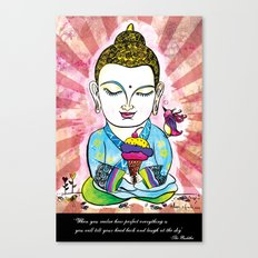Buddha's Delight Canvas Print