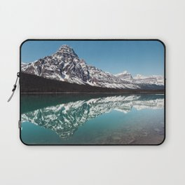 Reflection in the Rockies Laptop Sleeve