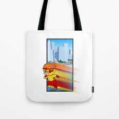 Kid Flash of Central City Tote Bag