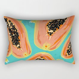 Papaya Rectangular Pillow