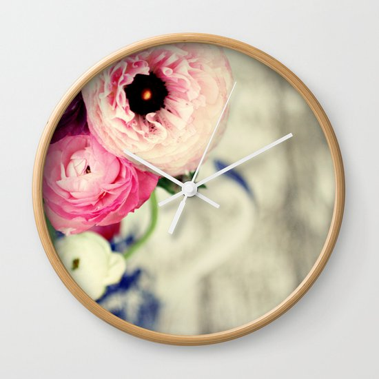 colors of happiness Wall Clock