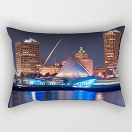 Milwaukee Art Museum Rectangular Pillow