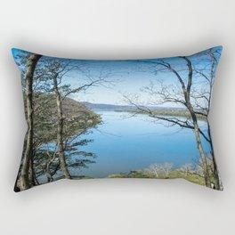 Through to the Susquehanna Rectangular Pillow