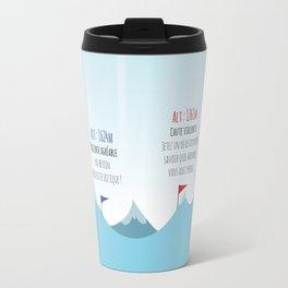 Ski slope Travel Mug