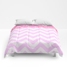chevron and frieze Comforters