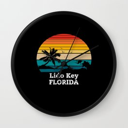 Lido Key FLORIDA Wall Clock