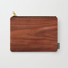 Beautiful red wood design Carry-All Pouch