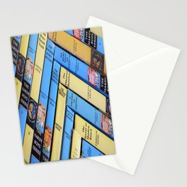 Nancy Drew & Hardy Boy Book Weave Stationery Cards