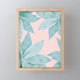 Agave Flower Dream #1 #tropical #decor #art #society6 Framed Mini Art Print