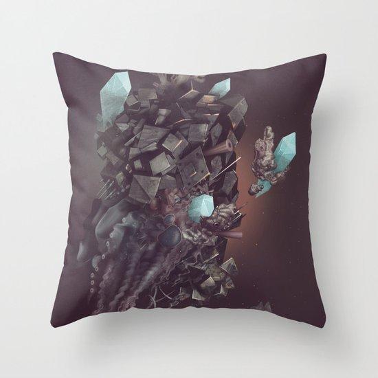 space stone Throw Pillow