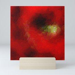 The sky behind the glass Mini Art Print