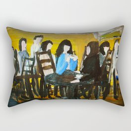 Let's Have A Coffee, And I Will Tell You Why He Is No Good For You  Rectangular Pillow