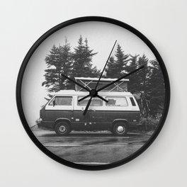 VAN LIFE Wall Clock