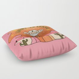 I Want To Leave Floor Pillow