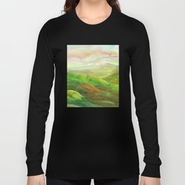 Lines in the mountains XVI Long Sleeve T-shirt