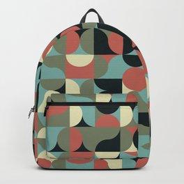 Abstract Geometric Artwork 43 Backpack