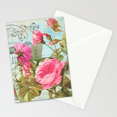 Vintage Flowers #3 Stationery Cards