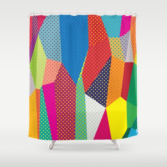 Dots Shower Curtain