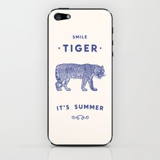 Smile Tiger, it's Summer iPhone & iPod Skin