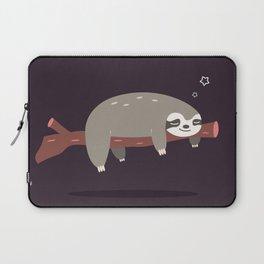 Sloth card - good night Laptop Sleeve