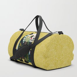panda ochre Duffle Bag