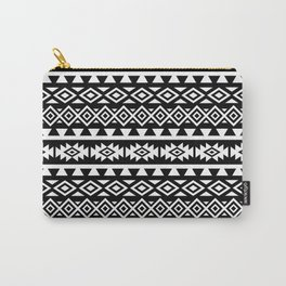 Aztec Stylized Shapes Pattern WB Carry-All Pouch